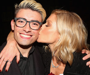Kelly Ripa and Son Michael Visit 'Kinky Boots' on Broadway