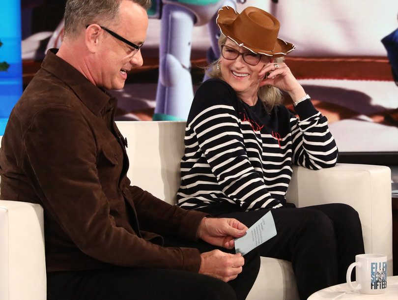 Meryl Streep Wants Oprah Winfrey, Tom Hanks in White House