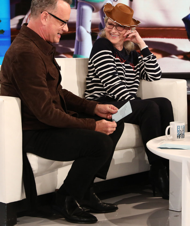 Meryl Streep Wants Oprah Winfrey, Tom Hanks in White House