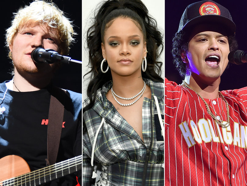 2018 iHeartRadio Music Awards Nominees: See Which 5 Artists Lead the Pack With 5 Noms Each