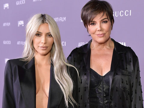 Kim Kardashian Comes to Her Mother's Defense After Tabloid Calls her 'Chubby'