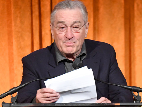 Robert De Niro Trashes Trump in Expletive-Filled Rant and Twitter Gets Ugly