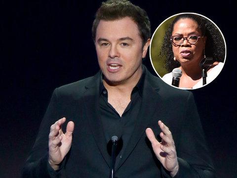 Seth MacFarlane Calls Oprah Presidential Run 'Troublingly Dystopian'