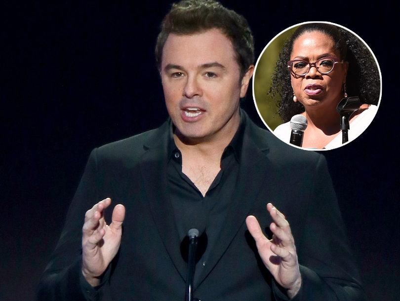 Seth MacFarlane Calls Idea of Oprah vs Trump Presidential Race 'Troublingly Dystopian'