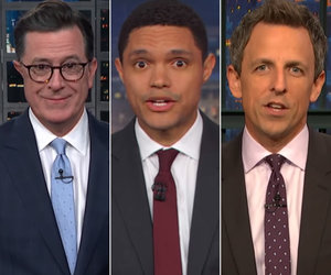Late-Night Hosts Crack Up Over Trump's DACA v Wall Battle