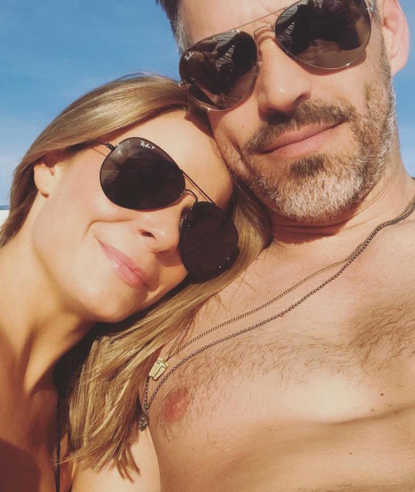 LeAnn Rimes Rocks Red Swimsuit on Getaway with Eddie Cibrian