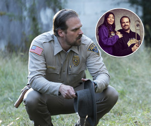 'Stranger Things' Star David Harbour Makes Good on Viral Yearbook Photo Promise