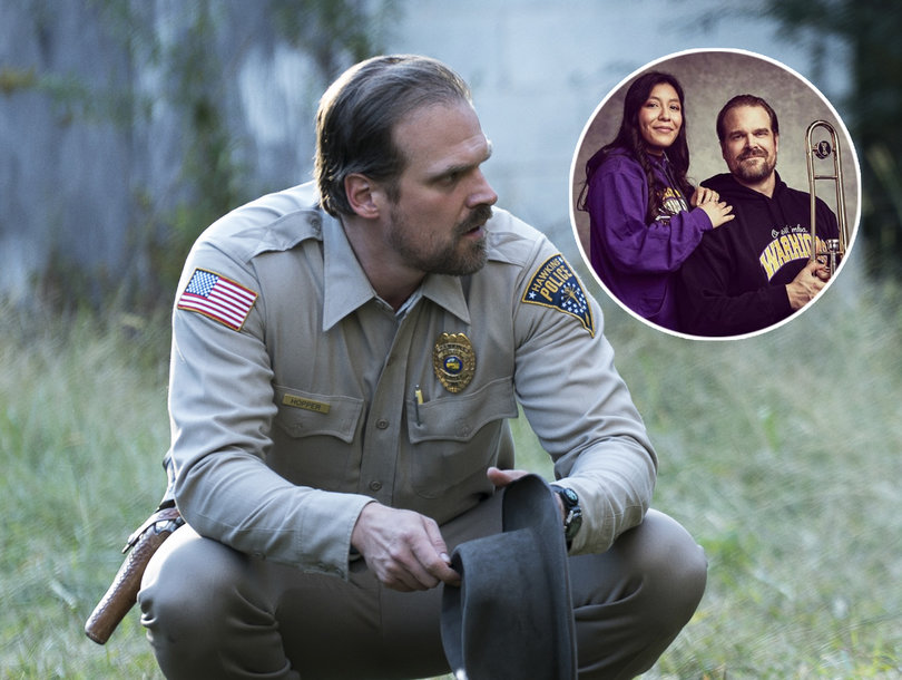 'Stranger Things' Star David Harbour Makes Good on Viral Yearbook Photo Promise to Fan