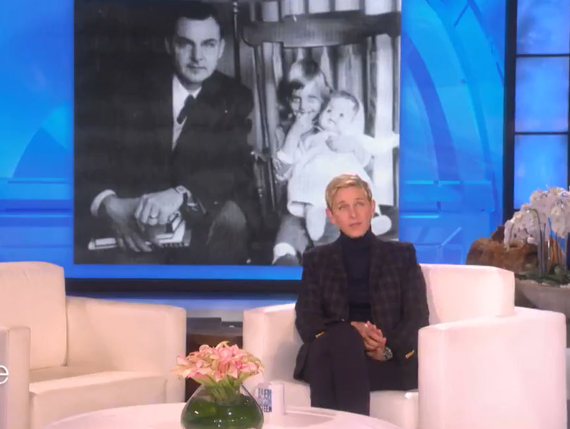 Ellen DeGeneres' Incredible Tribute to 92-Year-Old Dad: 'I Got a Rainbow Before He Died'