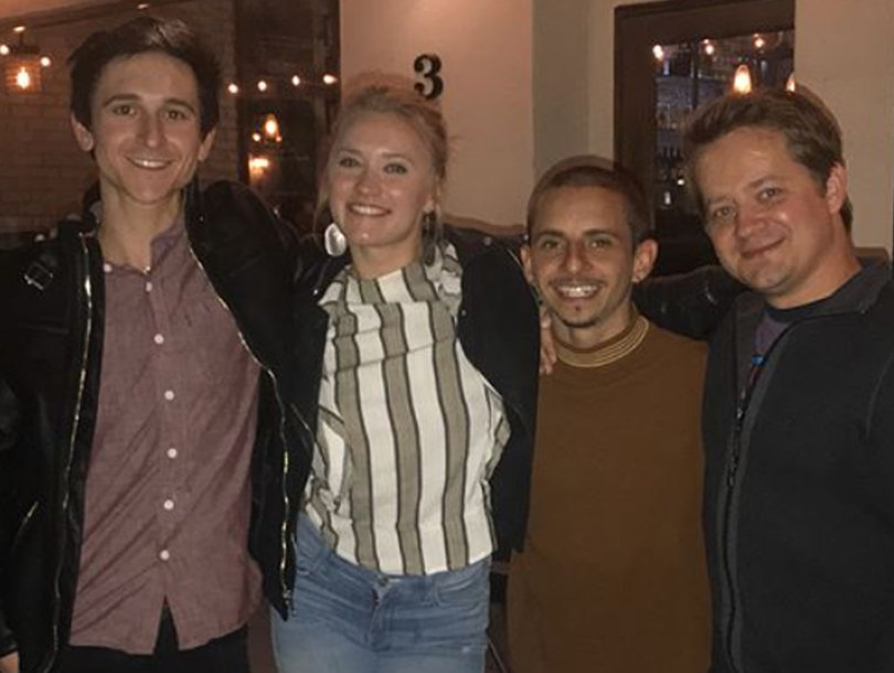 The 'Hannah Montana' Cast Reunited and Jason Earles Brought Us Back to 2007