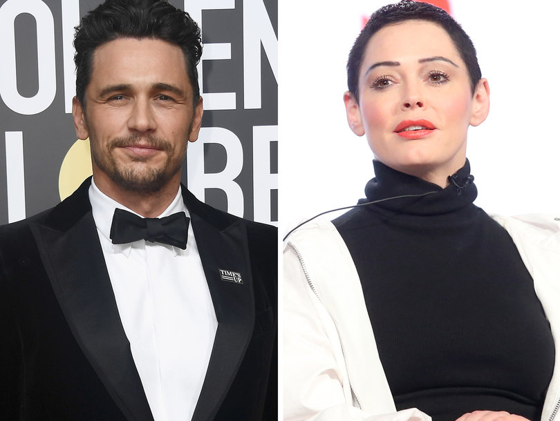 Rose McGowan Targets 'A--hole' James Franco After Critics' Choice Awards Win