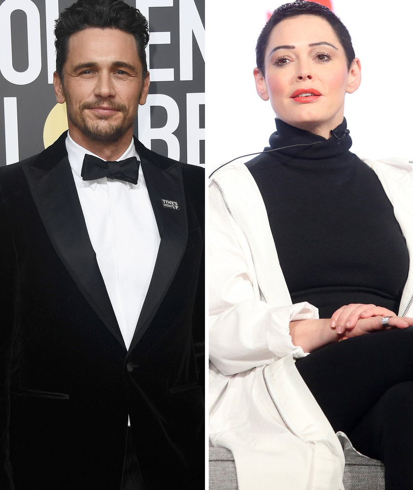 Rose McGowan Targets 'A--hole' James Franco Over Allegations