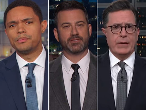 Late-Night Hosts Convinced Trump Is Racist After 'Sh-thole' Remark