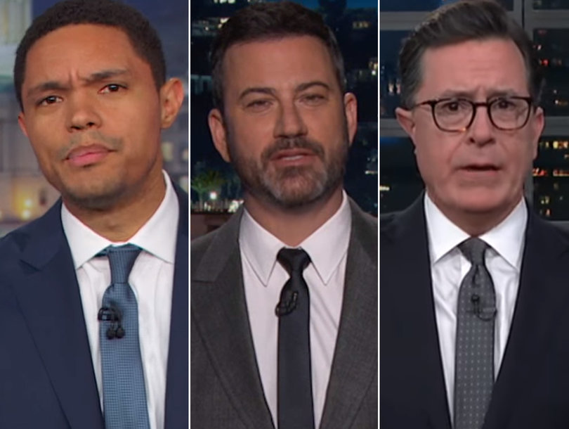 Late-Night Hosts Convinced Trump Is Racist After 'Sh-thole Countries' Remark