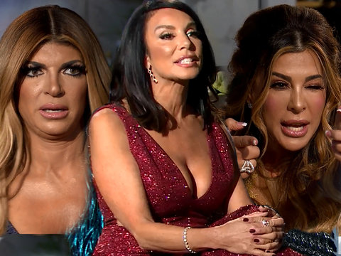 Wait, What?! See Who's Fighting Over 'Motherf--king Foyers' at 'RHONJ' Reunion