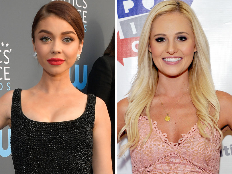 Sarah Hyland Says 'There's a Special Place In Hell' for Tomi Lahren After 'Sh-thole Countries' Tweet