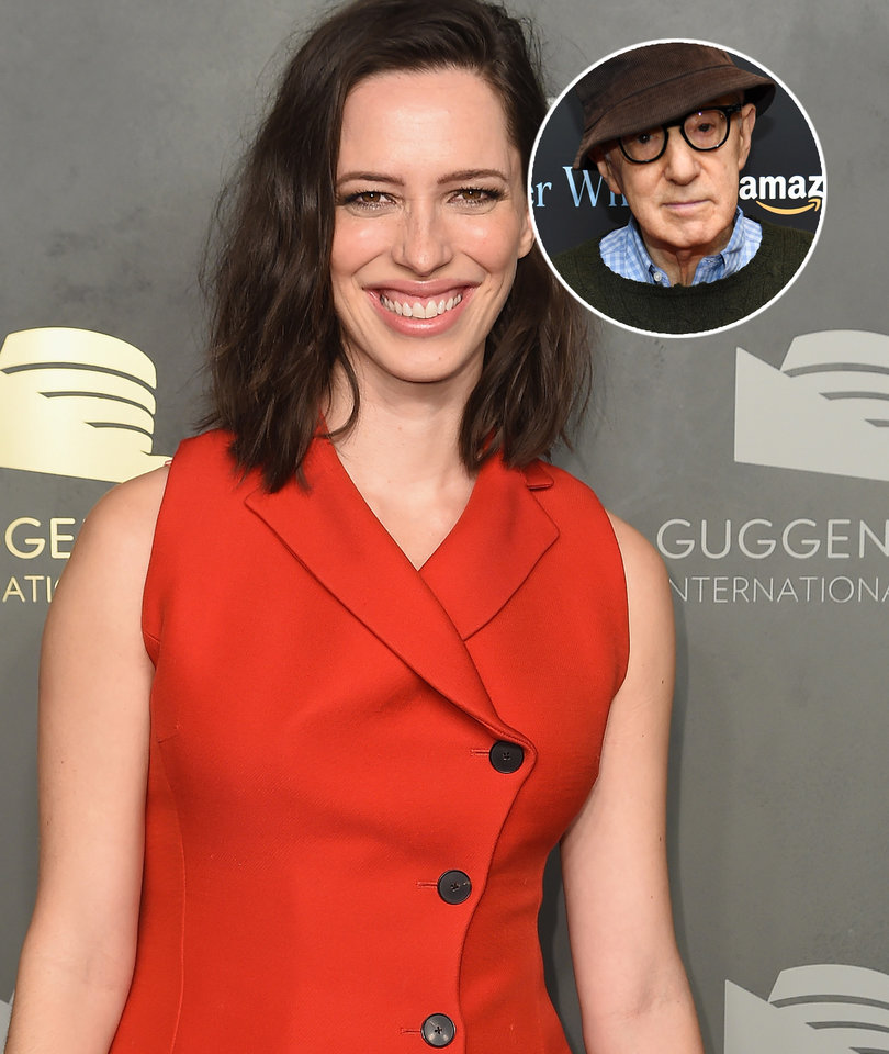 Rebecca Hall Donates Salary From Woody Allen Film to Time's Up