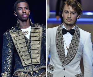 Sons of Diddy, Pam Anderson and More Rock the Runway In Milan