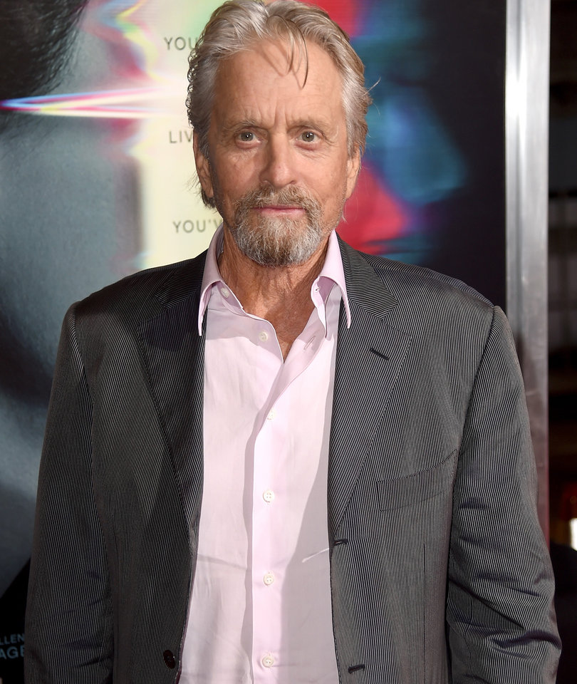 Michael Douglas Seen In Rare Snap with All Three Kids and Newborn Granddaughter