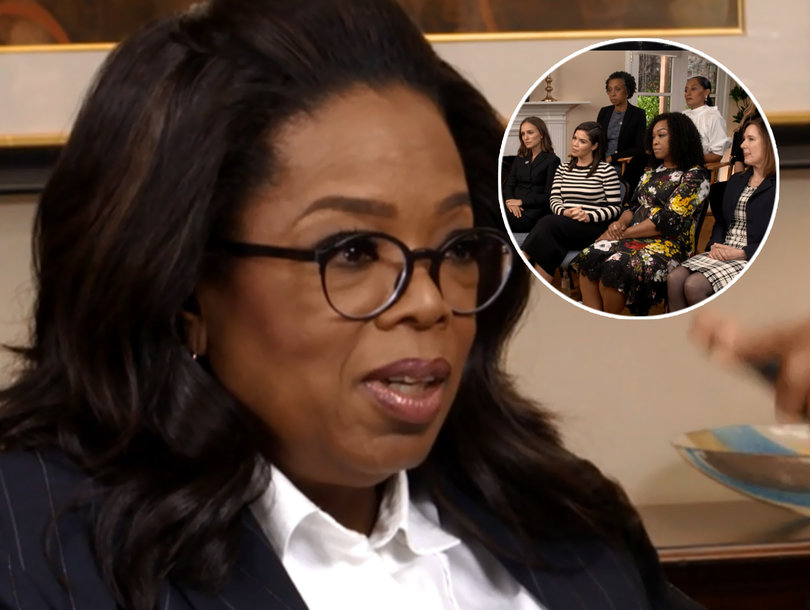 Oprah Winfrey Has Important Questions About What's Next for #MeToo and #TimesUp