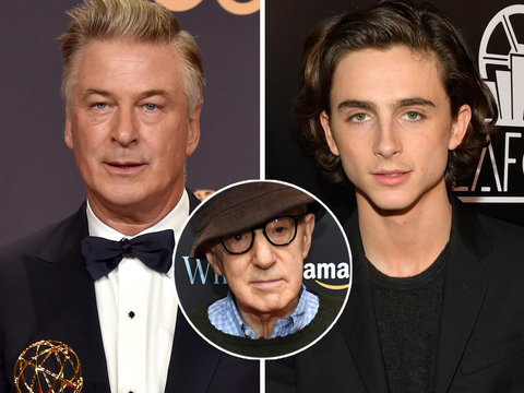 Alec Baldwin Defends Woody Allen as Timothee Chalamet Donates Salary