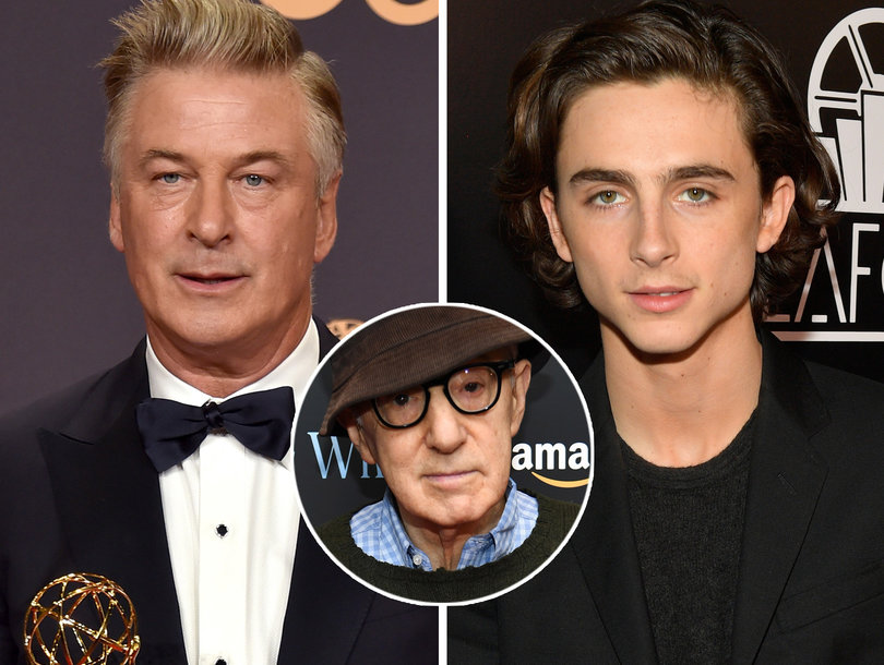Alec Baldwin Defends Woody Allen as Timothee Chalamet Donates Salary