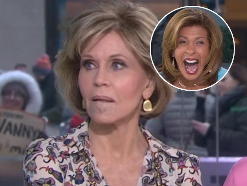 Jane Fonda Shades Megyn Kelly After Lily Tomlin Makes Facelift Joke on 'Today'