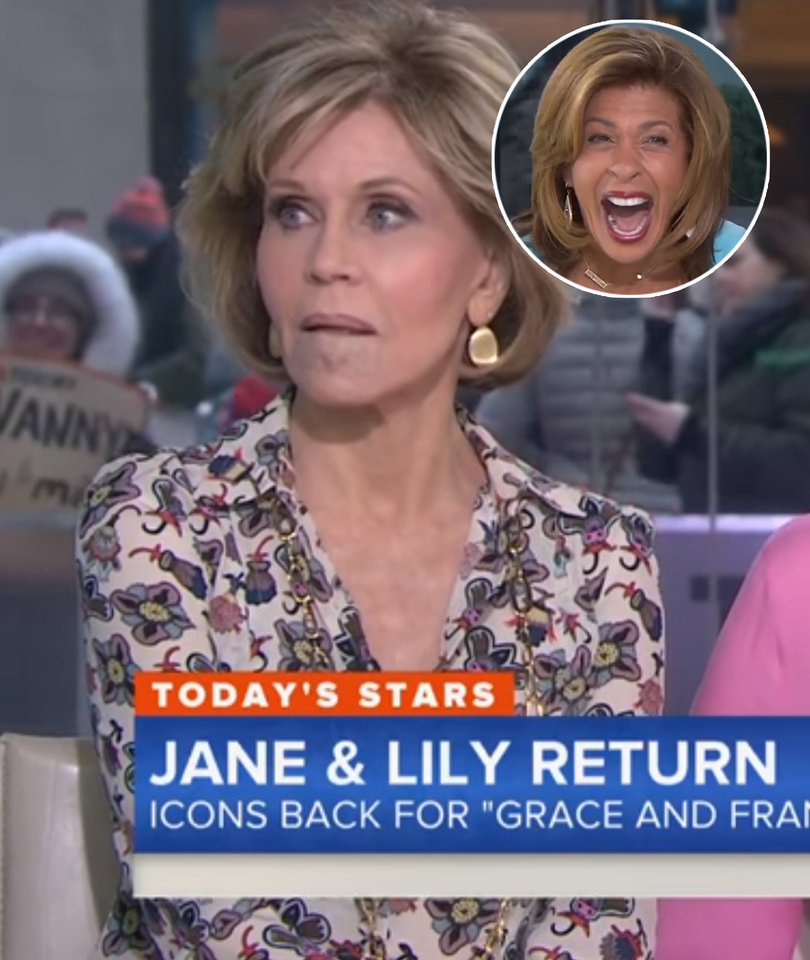 Jane Fonda Shades Megyn Kelly for Plastic Surgery Question on 'Today'