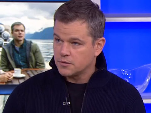 Matt Damon Apologizes for Comments About Sexual Misconduct