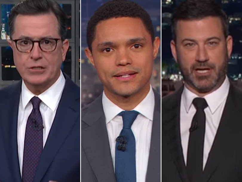 Late-Night Hosts Weigh Trump's Physical Exam Results Against Reality and They Don't Match Up