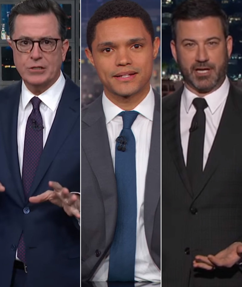 Late-Night Weighs Trump's Physical Exam Results Against Reality