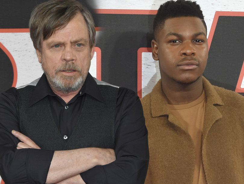 Mark Hamill, John Boyega Laugh Off Misogynistic 'Star Wars: The Last Jedi' Fan Cut Removing Every Female