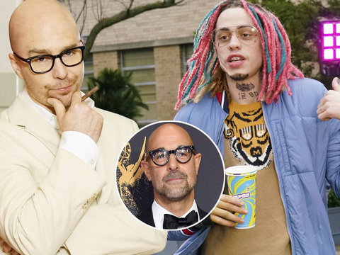 What Stanley Tucci Thought About Pete Davidson's 'SNL' Sketch About Him