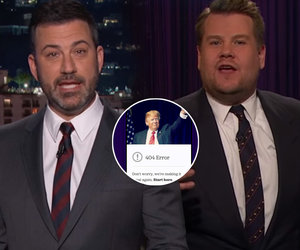 Corden and Kimmel LOL So Hard at Trump's 'Fake News Awards'