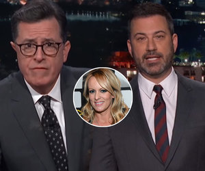 Colbert Nearly Vomits Over Trump Comparing Porn Star to Daughter