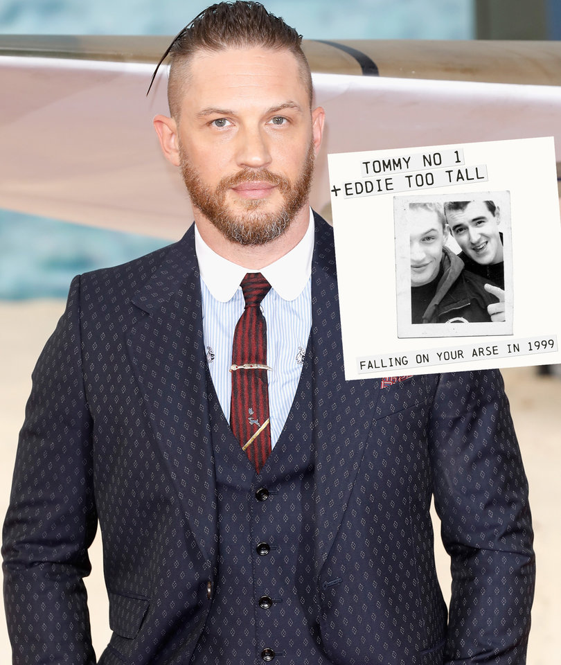 Tom Hardy Has Nothing to Be Ashamed of as 1999 Rap Mixtape Surfaces Online