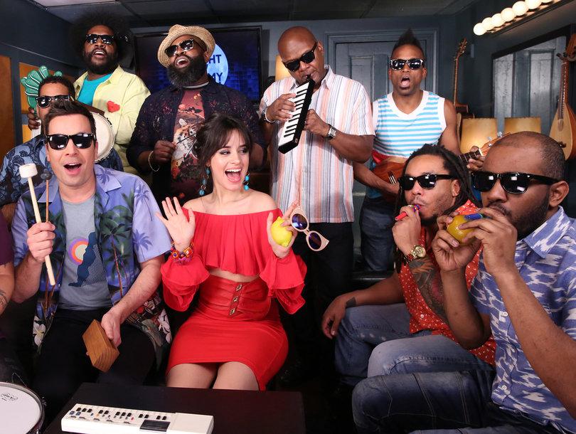 Camila Cabello Remixes 'Havana' With Jimmy Fallon and Classroom Instruments