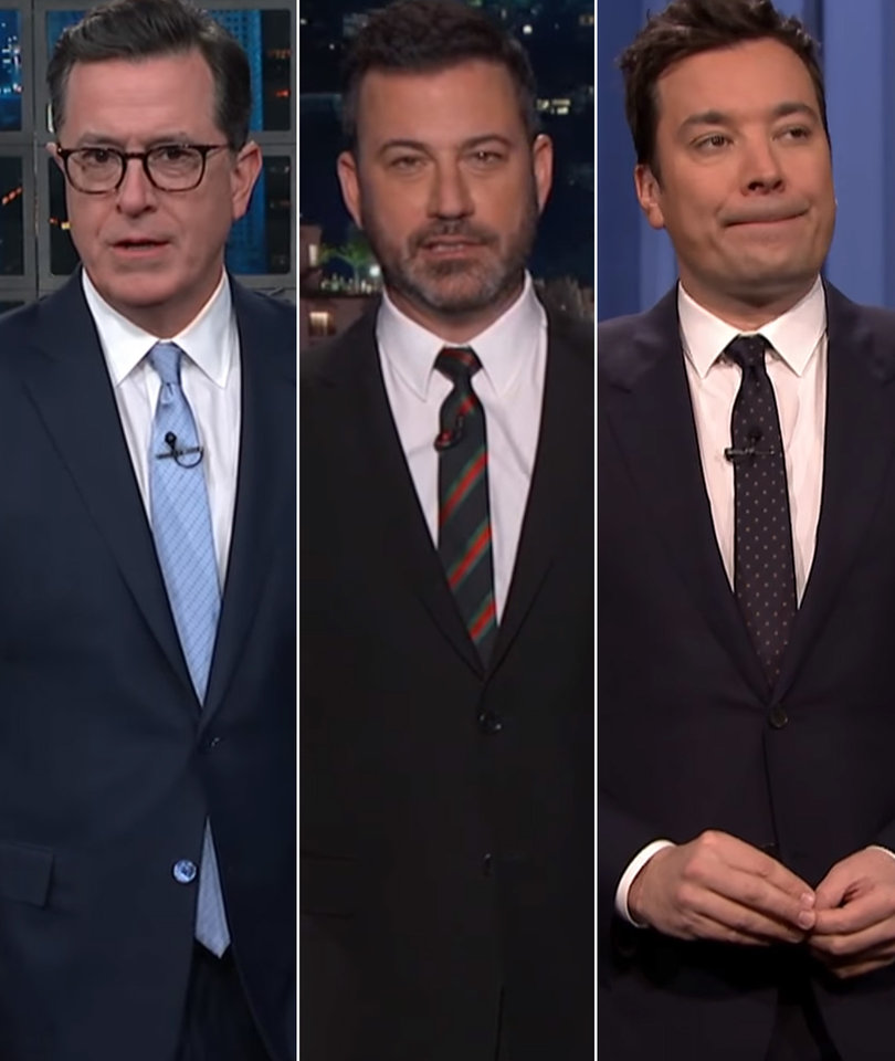 Late-Night Hosts Agree: Trump's 'Fake News Awards' Were as Disappointing as…