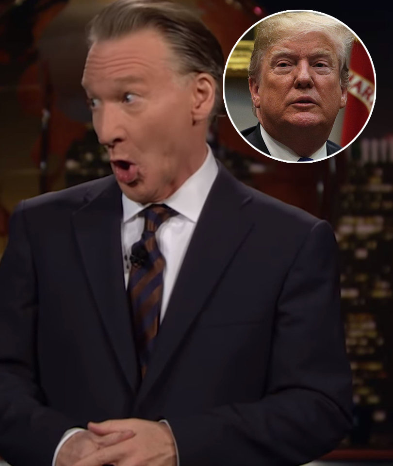 Bill Maher Blasts Trump's Tumultuous 2018: Porn Star, 'Sh-thole,' Shutdown