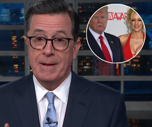Stephen Colbert Traumatized by 'Sexually Submissive' Trump