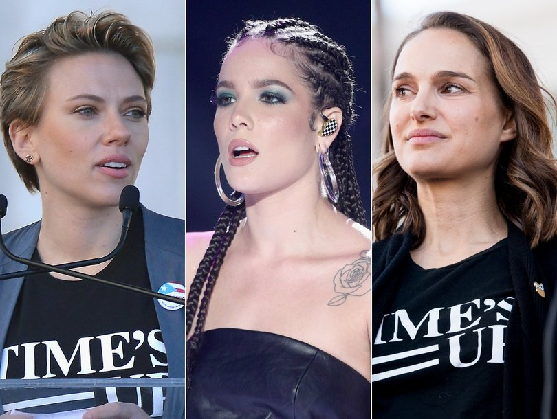 Scarlett Johansson Jabs James Franco at Women's March and 11 More Stars Speaking Out