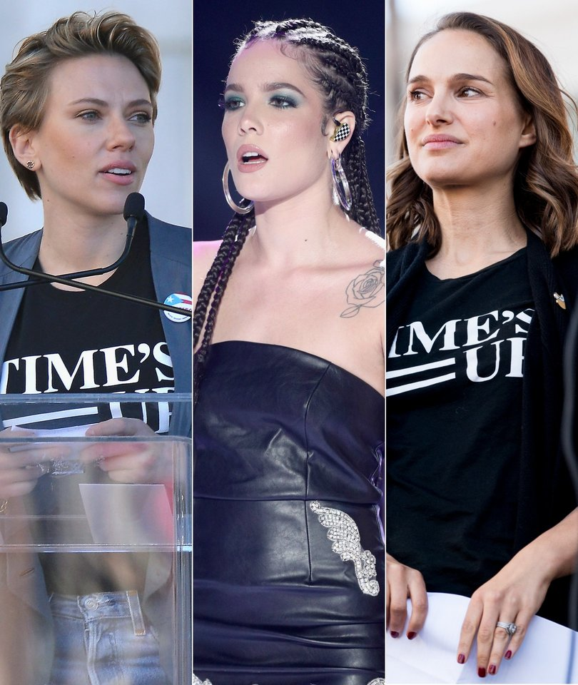 How 12 Hollywood Stars Spoke Out at the Women's March