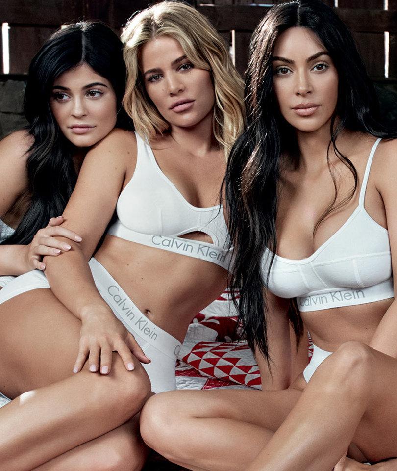 Kylie Jenner Resurfaces in Kardashian Calvin Klein Undies Ad