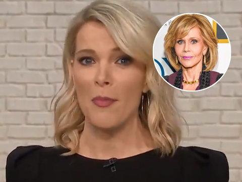 Twitter Roasts Kelly for Bringing 'Hanoi Jane' Into Fonda Plastic Surgery War
