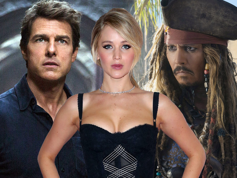 2018 Razzie Nominations Packed With A-Listers: Jennifer Lawrence, Mark Wahlberg, Johnny Depp