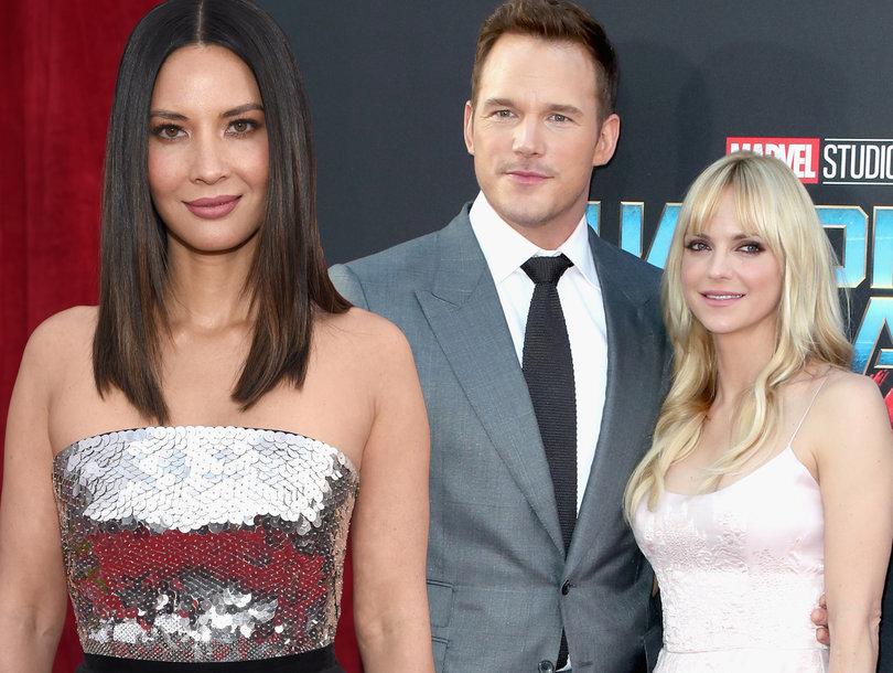 Olivia Munn Clears Up Chris Pratt Dating Rumors by Sharing Anna Faris Text Exchange