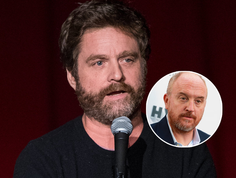 'It Grosses me Out': Zach Galifianakis on Louis C.K. Sexual Misconduct Allegations
