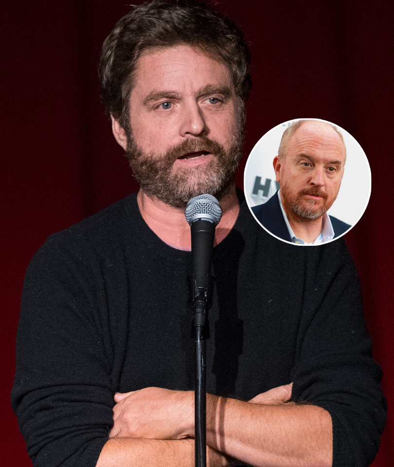 'It Grosses me Out': Zach Galifianakis on Louis C.K.'s Misconduct