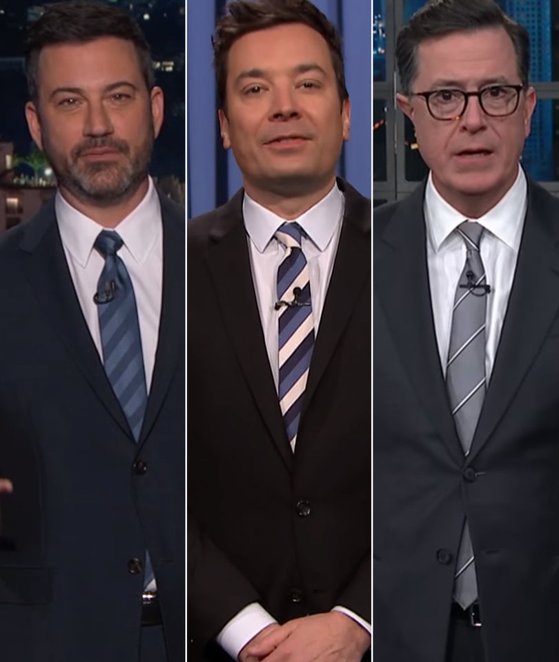 Late-Night LOLs at Trump Over Women's March, Shutdown