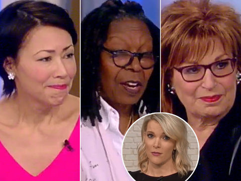 'The View' Unloads on Megyn Kelly for Jane Fonda War